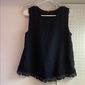 Like new! Navy tank console Ann Taylor